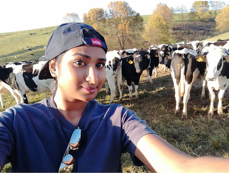 """""""I was destined for this,"""" believes aspiring dairy farmer"""