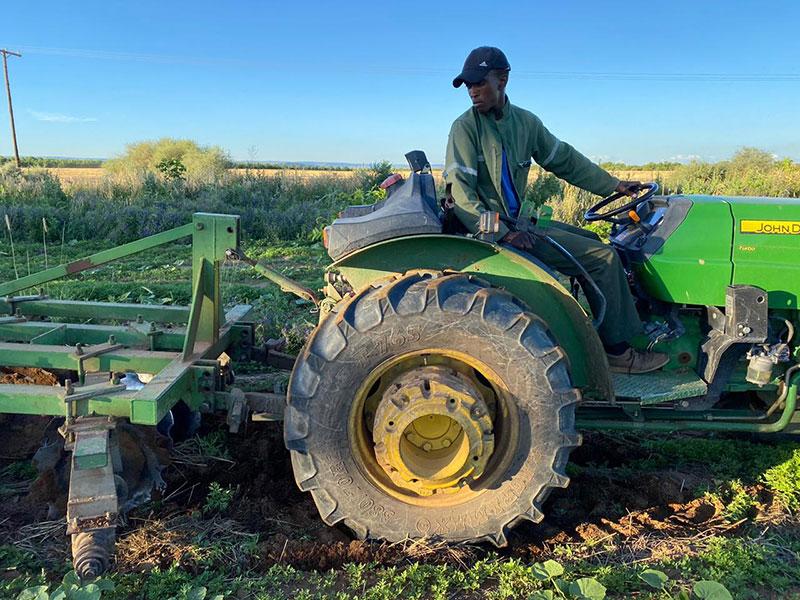 Motaung Maxwell Motlalepule- Organic Farming